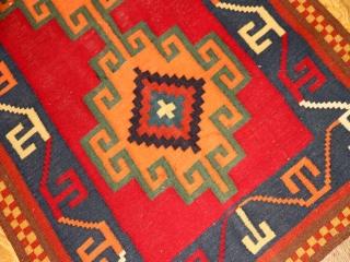 シラズのセンターラグキリム手織りイラン製93000