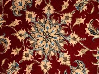 長いペルシャ絨毯ナインの廊下敷き赤い色55413