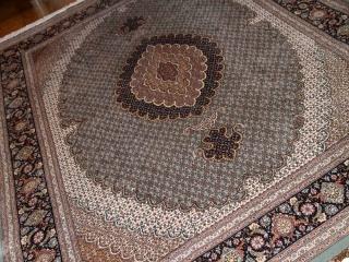 最高級リビング絨毯ペルシャタブリーズマヒ75154