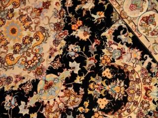 手織りペルシャ絨毯トップクオリティータブリーズセンターラグA163000