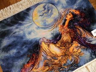 ペルシャ絨毯タブリーズタペストリー55351