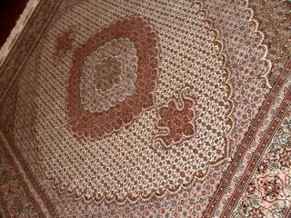 ペルシャ絨毯ネット販売のタブリーズラグ50155