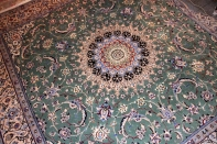 正方形ペルシャ絨毯ナインリビング16112