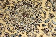 人気ペルシャデザインメダリオン玄関マット55287