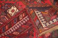 赤いキリムリビングキリム高品質ペルシャ32373