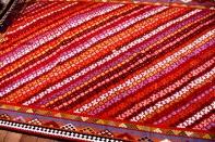 非常に細かい織り方高品質キリム327000