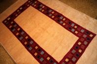 最高級手織りペルシャギャッベ16711