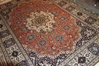 トップクラス手織りナインリビング絨毯84912