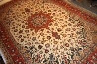 ペルシャ絨毯タブリズリビング39064