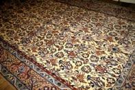 ソファー前カーペットラグ手織りペルシャ99435