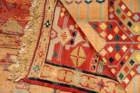最高級トップクラス手織りペルシャキリム35880