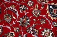 ペルシャ伝統のイスファハン町カーペット99432