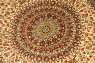 手織りシルクのラグカーペット47085