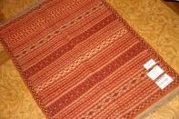 マンション玄関マット手織りキリムウール46473