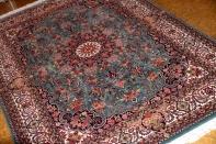手織りペルシャ絨毯ビジャールセンターラグ188409