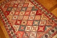 ハイグレード草木染め手織りキリム35873