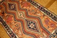アジア風キリム、オリエンタル手織りラグ34639