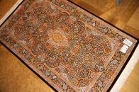 最高級シルクのペルシャ絨毯クム有名工房48065