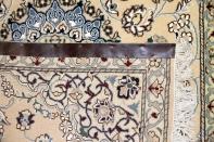エレガント玄関マット明るいキャメル色ナイン55184