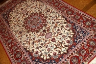イスファハンペルシャ絨毯イラン製ラグ50146
