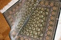 おしゃれ和風玄関マットペルシャ絨毯クム49062