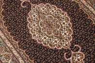 マヒデザインタブリーズ産地ペルシャ絨毯21824