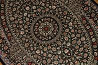 最高級敷物手織りクムペルシャ絨毯48053