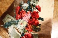 花絨毯ペルシャ絨毯フラワーデザイン50108