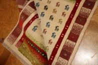 色彩豊富なギャッベセンターラグ高品質メリノウール201590