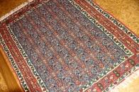 手織り高級キリムのセネ産地センターラグ124000