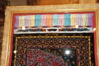 非常に珍しいデザインのシルク手織りペルシャ56015