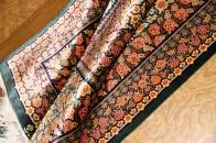 高級手織りペルシャ絨毯クムシルク48063