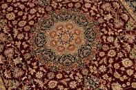 最高級ペルシャ絨毯シルク100%ラグサイズ99511