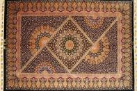 ジェッディー工房最高級シルクペルシャ絨毯ラグ60058