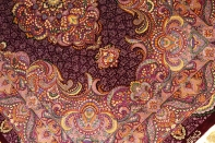 最高級有名工房のJEDDIセンターラグペルシャ絨毯クム60065