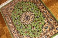 カシャーンシルク最高級手織りペルシャ絨毯75113