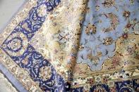 シルク絨毯最高級カシャーンシルク6平米ペルシャ絨毯75997