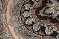 イラン製最高級機械織りペルシャカーペット丸い形990084K