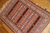 キリムギャッベ珍しい織物自然の色使い26897