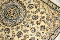 目玉商品激安価格ペルシャ玄関絨毯ナイン産55084