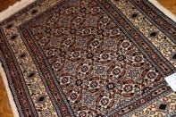 手織りペルシャ絨毯の玄関マットムード産地ウール188758
