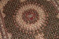 手織りペルシャ絨毯イラン製ムード産地ソファー前サイズ18531