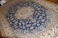 ペルシャブルーリビング絨毯、憧れのペルシャ絨毯ナイン59029
