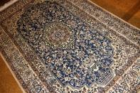 ブルーカーペットのナインペルシャ絨毯3276