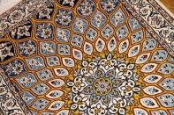 人気デゴンバデー手織りペルシャ絨毯ナイン玄関マット75158