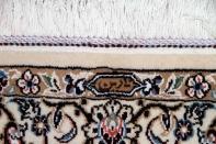 人気デザインゴンバディーペルシャ絨毯ラグブルーナイン産地75159