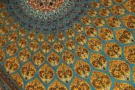 最高級ゴンバディデザインシルクペルシャ絨毯60005