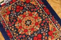 有名工房ラジャビヤンミニシルクペルシャ絨毯56002