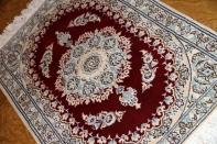 高級玄関マットナイン産ペルシャ絨毯58067