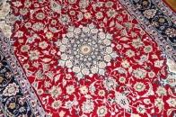 レッドカーペットラグペルシャ手織り絨毯50147